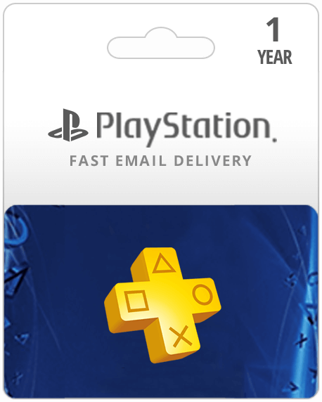 1 Year USA PlayStation Plus Membership (Email Delivery)