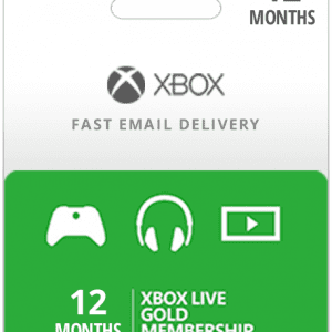12 Month USA Xbox Live Gold Subscription (Email Delivery)