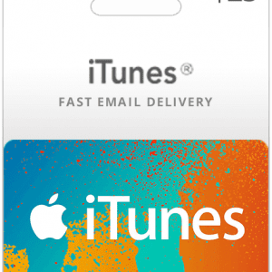$25 USA iTunes Gift Card (Email Delivery)