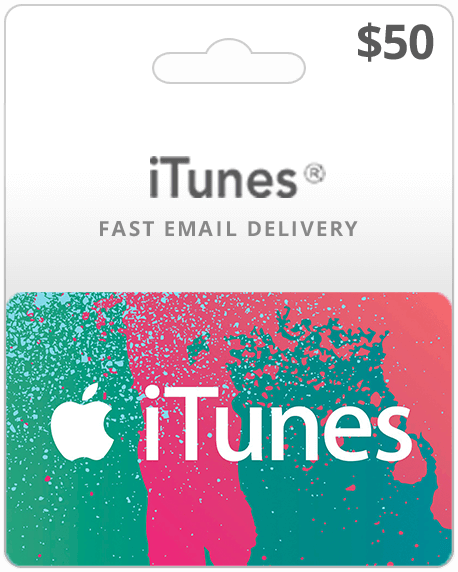 $50 USA iTunes Gift Card (Email Delivery)