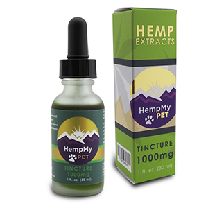 hemp my pet 1000mg extract bottle