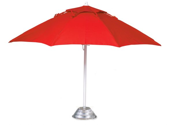 FL75 - 7.5' Fiberglass Market Umbrella, Manual, Vent, Awning Cover-0