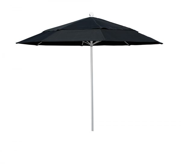 UMHU9W - Hurricane - 9' Market Umbrella, Aluminum Pole, Fiberglass Ribs, Manual, Vent-0