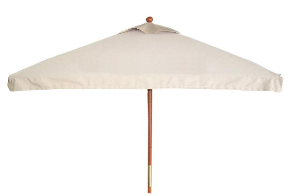 UMOL6SQ - Olivia - 6' x 6' Market Umbrella, Wood Frame, Manual, Vent-0