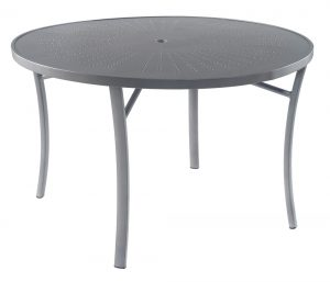 "3TXRAL - Regatta 42"" Dining Table Aluminum Top-0"