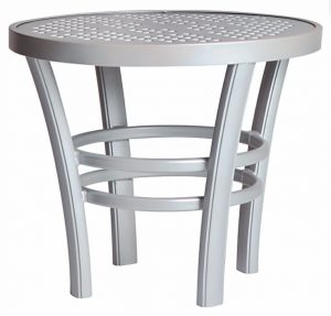 3TXBAL - Regatta End Table Aluminum Top-0