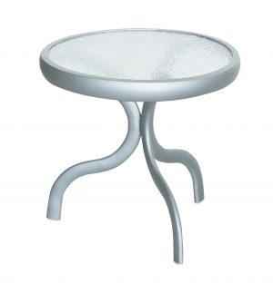 "A5018M - 18"" End Table - Acrlylic Top-0"