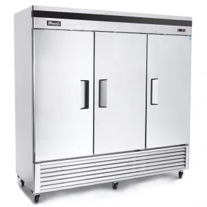 Freezer 3 doors Reach-In C-3FB Migali 2 year parts & labor warranty $3395