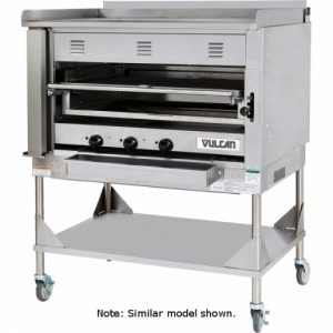 Chophouse Broiler 36″ wide Heavy Duty Vulcan VST3B Chophouse Broiler with Griddle Plate – 100,000 BTU $8995